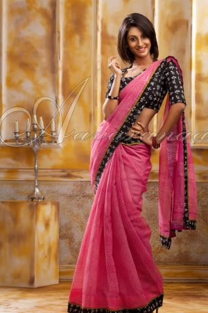 Trendy cotton kota saree