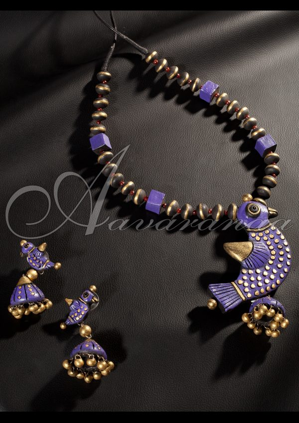 Hand Crafted Terracotta Jewellery Online Shopping | Aavaranaa-0