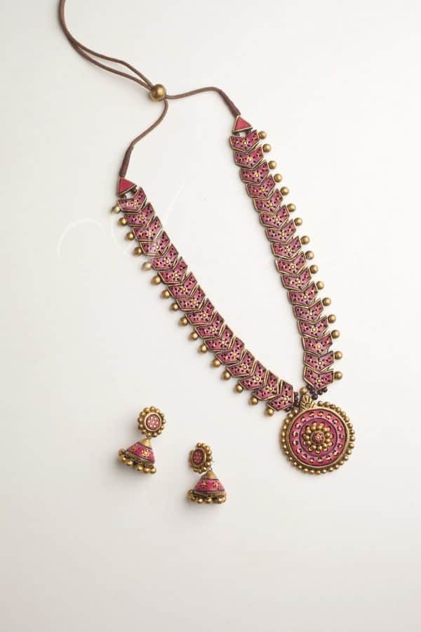 Terracotta jewellery-0