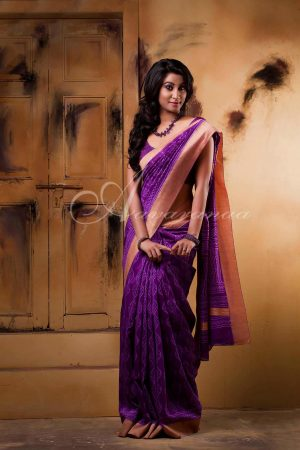Maheshwari cotton saree-0