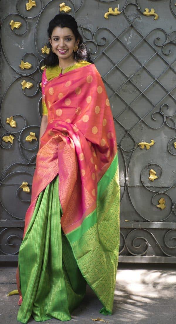 Partly pallu kanchivaram-0