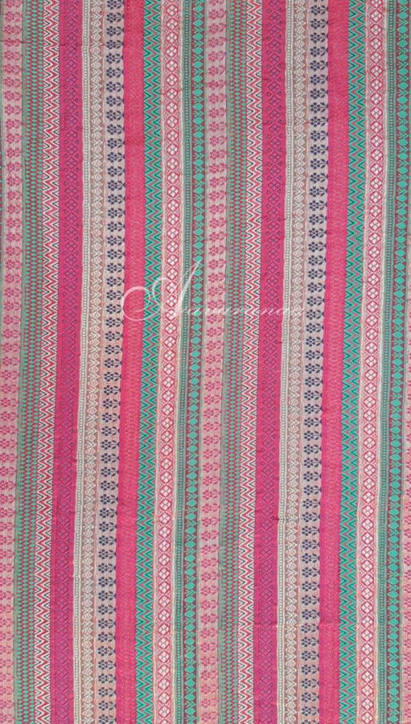 Multi design Brocade fabric-0