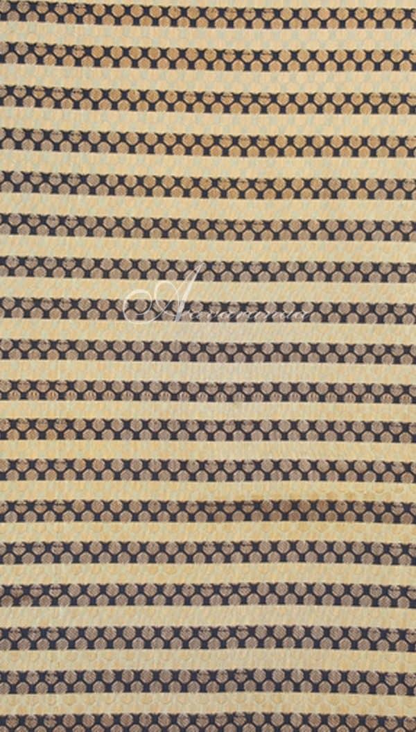 Beige&Black lines brocade-0