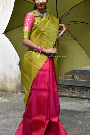 Payadi pink&Green-0