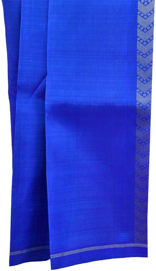 Blue kanchipuram silk saree-5709