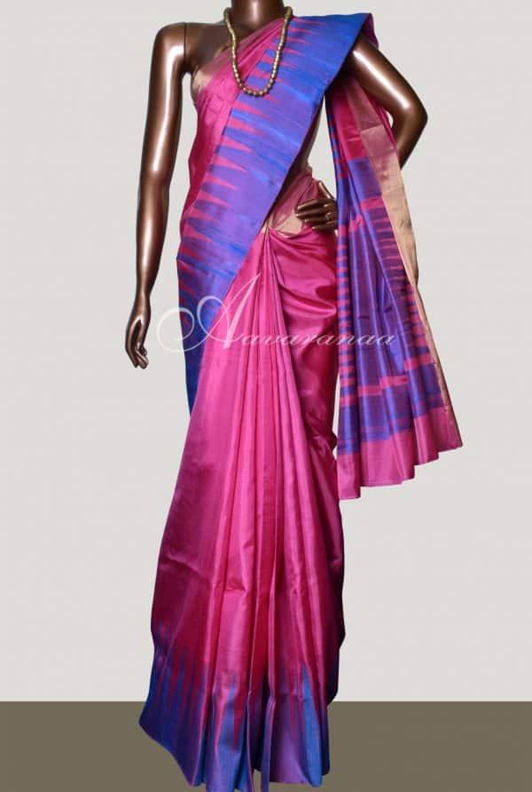 Majenta soft silk-0