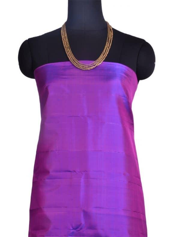 Blue and violet kanchipuram silk saree-10403