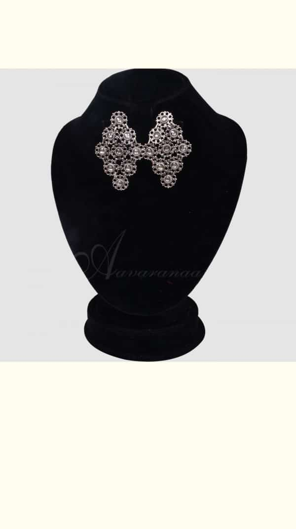 Silver earring bunch -0