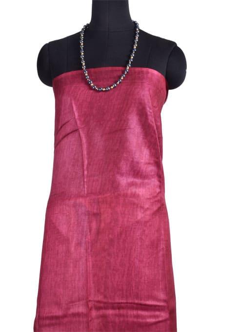 Black printed tussar saree-10813