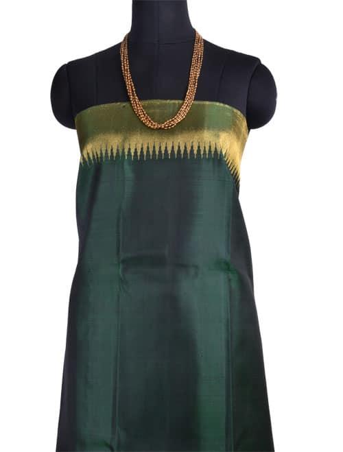 Maroon brocade kancheepuram silk saree-10825