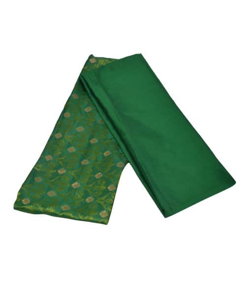 Maroon matka silk and mustard kanchipuram silk saree-10857