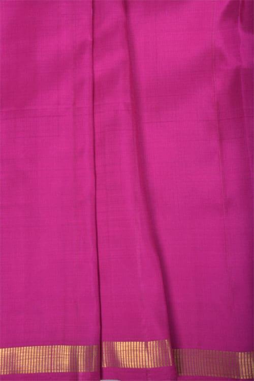 Navy blue kanchipuram silk saree -11237