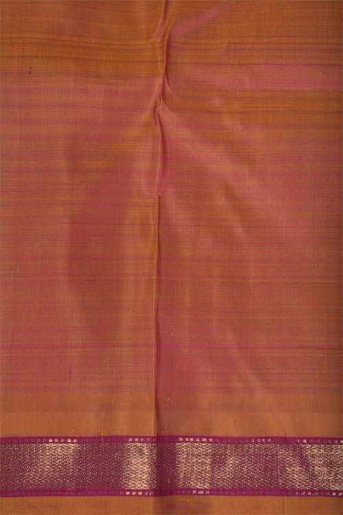 Dark purple kanchipuram silk saree -11308