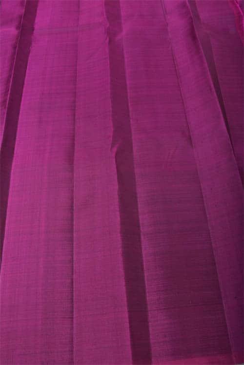 Grey kanchipuram silk saree-11730