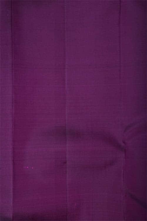 Purple and green panelled kanchipuram-11747