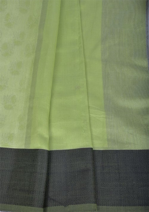Off white matka silk saree-11106