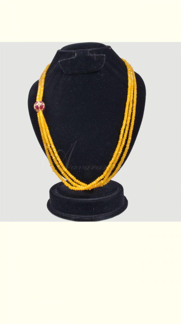 Mustard bead chain-0