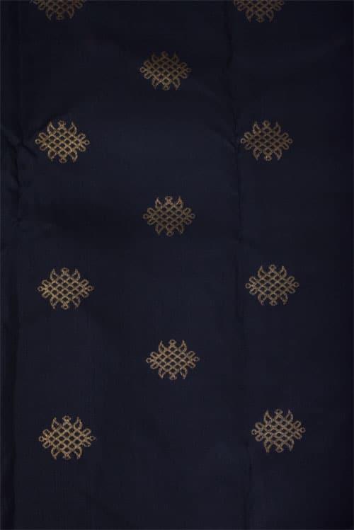 Yellow kachipuram silk saree -11762