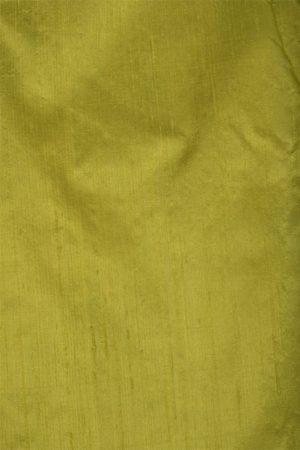 Peach Organza saree with green raw silk border-11945