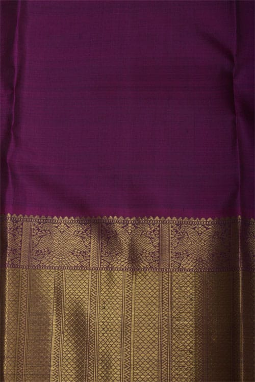 Blue kancheepuram Bridal Silk -12329