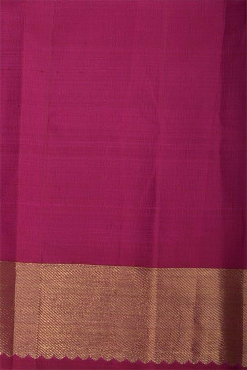 Pink Chiffon & Kanchipuram 1/2& 1/2 Saree-12352