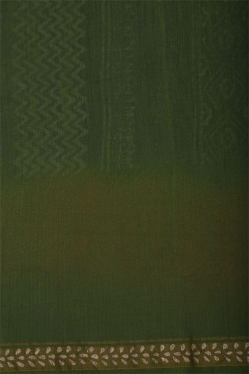 Indigo blue chandheri saree-12356