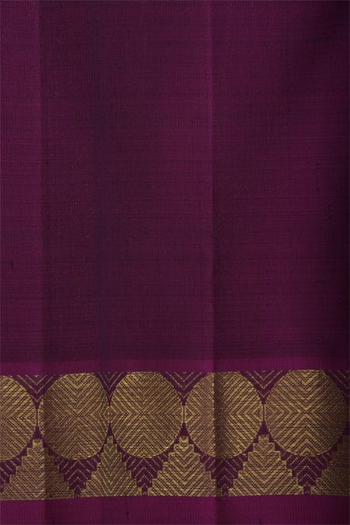 Black kanchi silk saree -12405