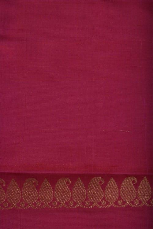 Green Partly pallu kanchivaram saree-12414