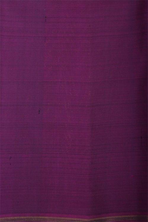 Black long border saree-12452