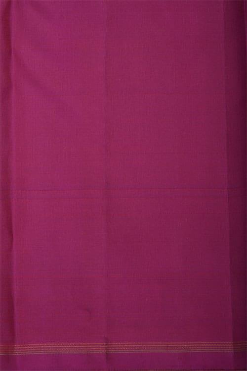Pink & beige half & half silk saree-12426
