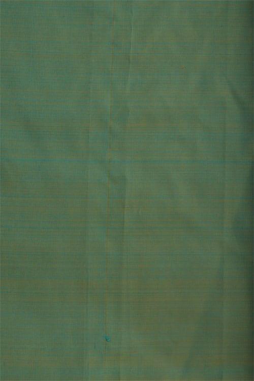 Pista green embroidered silk saree-12503