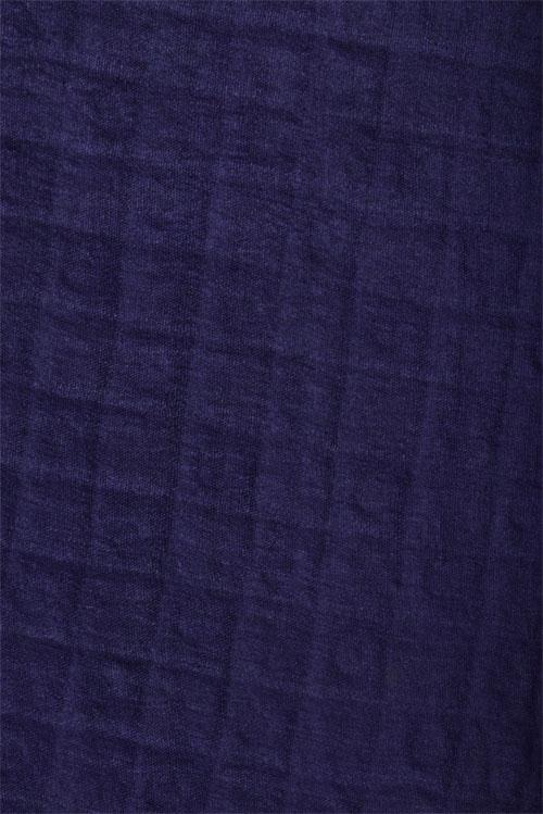 Beige & navy blue tussar saree-12557
