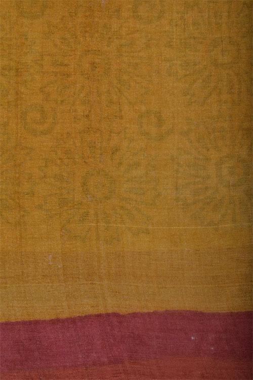 Off white tussar saree-12609