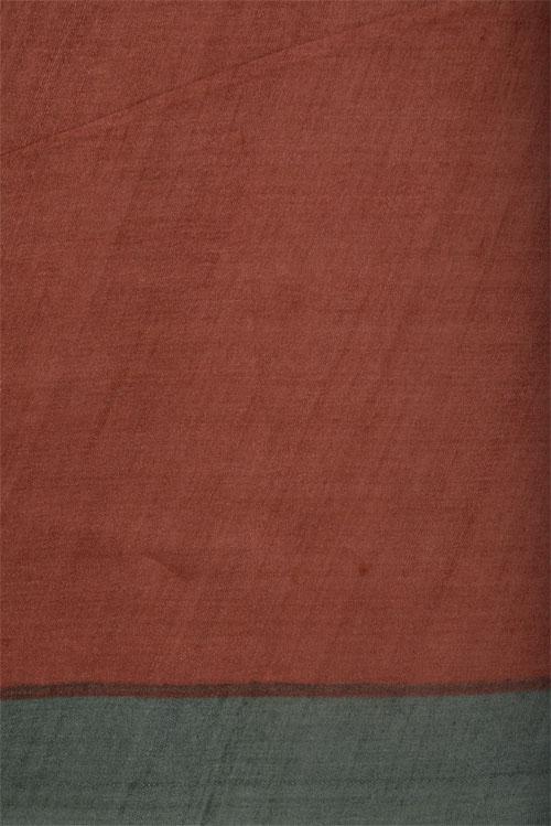 Pista green printed tussar saree-12613