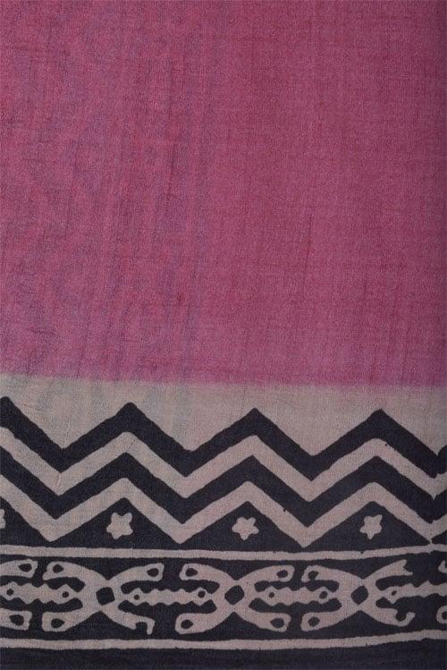 Partly pallu tussar saree-12619