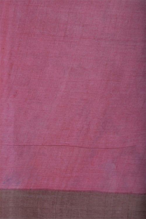 Beige tussar saree-12641