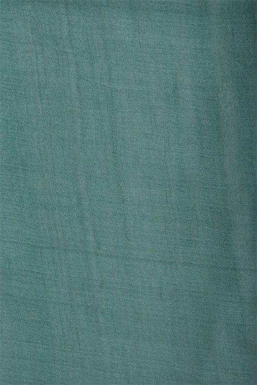 Sea green printed tussar saree-12643
