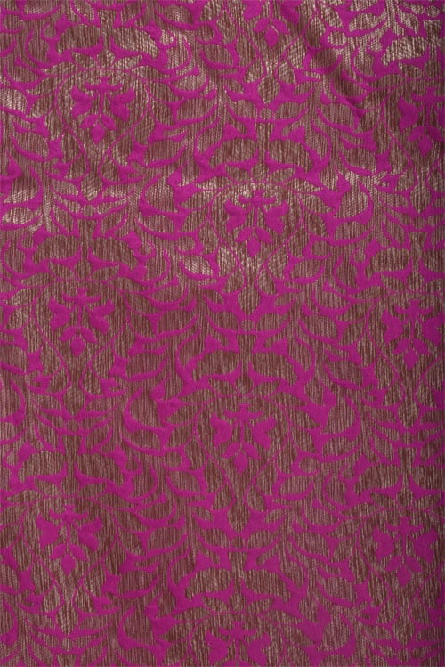 Green chiffon in partly pallu-12698