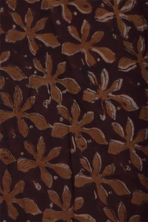 Mustard organza sari with applique work -12696