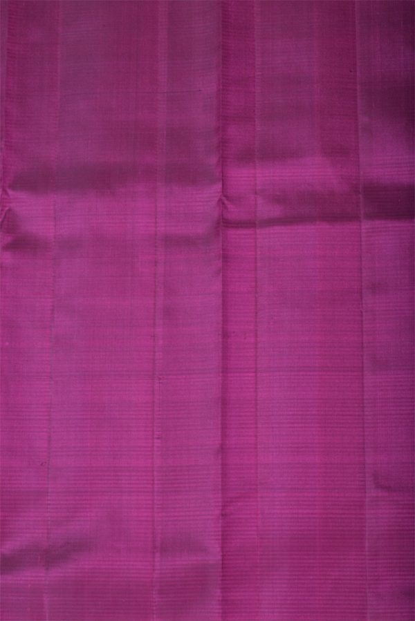 Purple plain silk saree-13369