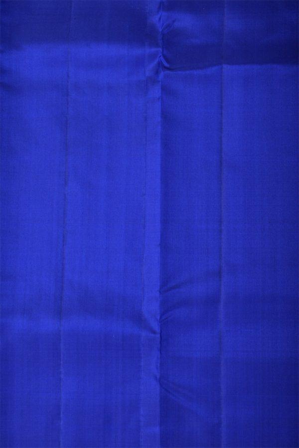Royalblue plain silk saree-13373