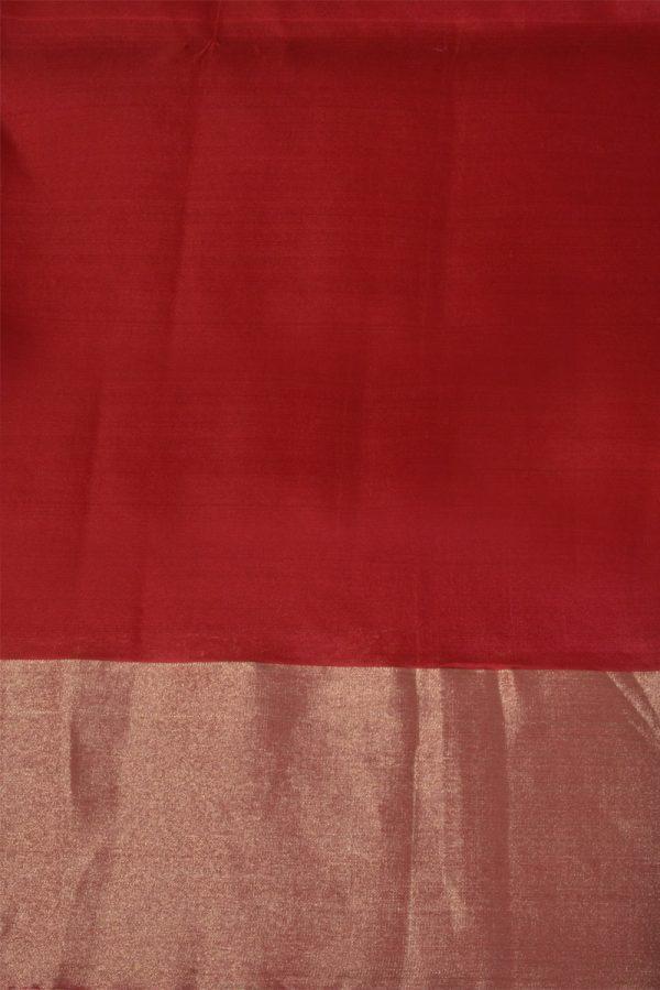 Wine brocade silk saree-13685