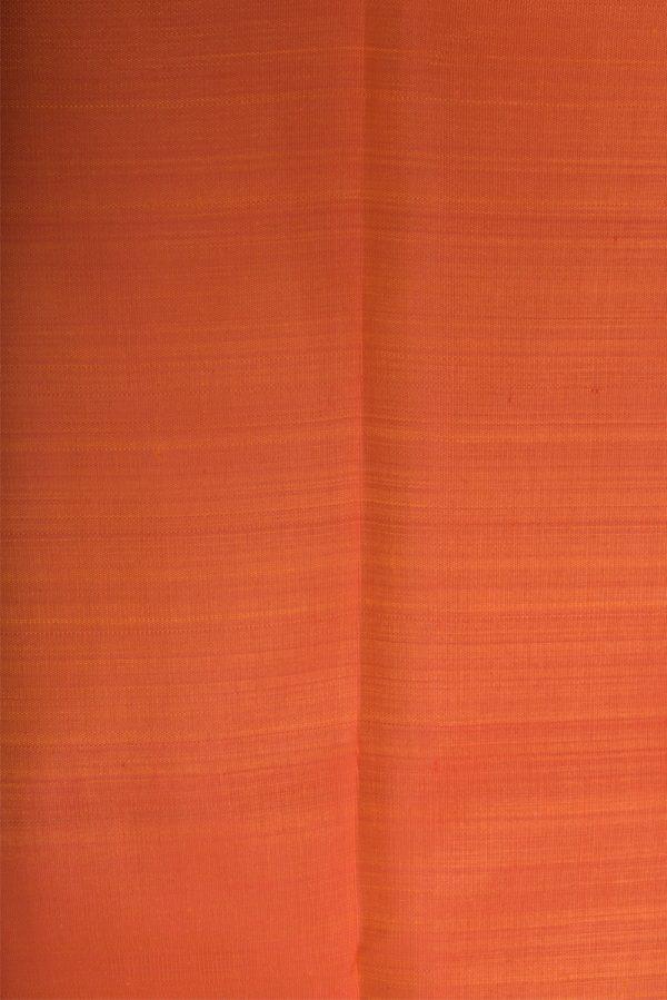 Rustblack half half kanchi silk saree-13882
