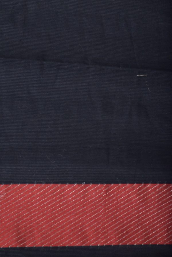Black benaras cotton saree-13904