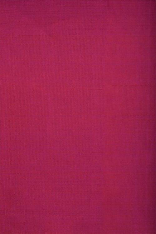 Green and pink 1/2 & 1/2 kanchi saree-12783