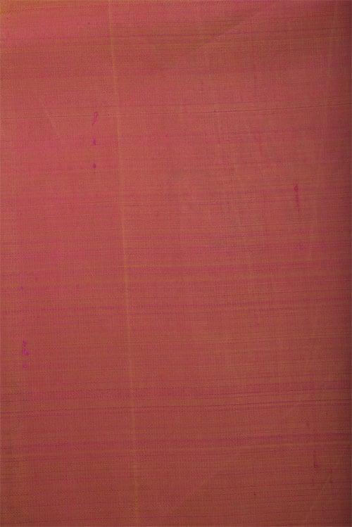 Peach block printed kanchisilk saree-12809