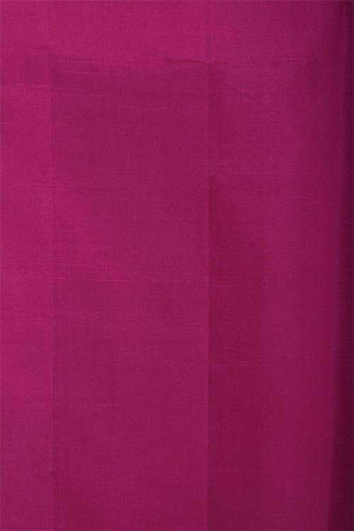 Yellow kora kancheepuram silk saree-12821