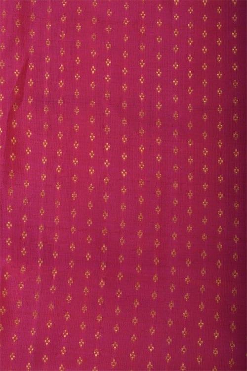 Blue black ajrakh partly pallu silk saree-12829