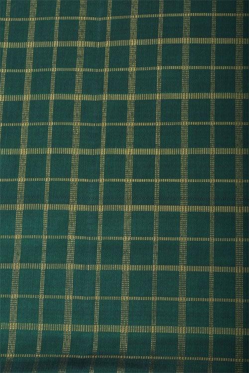 Brown ajrakh silk saree-12793