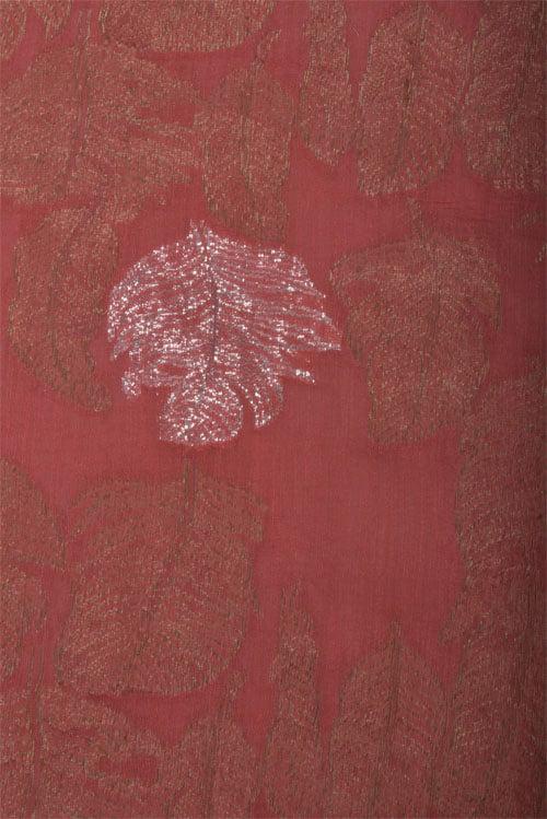 Pista green Frill saree-12799